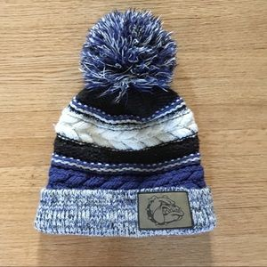Vintage Blue Bulldogs Ski Hat